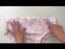 Как сшить трусики из хлопка с юбочкой на малышку от 0 до 24 месяцев