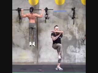 Strength of Body. Необычный танец