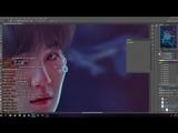 BTS PHOTOSHOP EDIT (LIVE) Elf Yoongi (