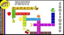 Fruit Crossword Puzzle For Kids | Learn Fruits Names And Spellings