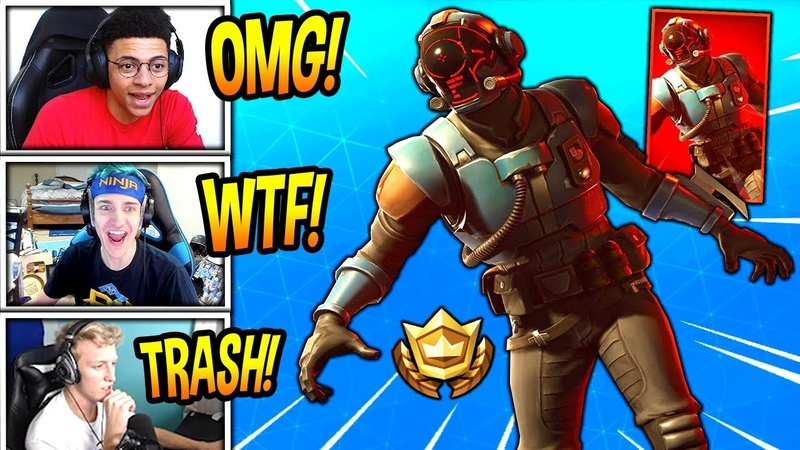 STREAMERS REACT TO *NEW* BLOCKBUSTER SKIN! *EPIC* Fortnite SAVAGE FUNNY Moments