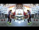 Ksenia Dedyukhina 32 kg kettlebell snatch warm