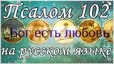 Псалом 102, Псалтирь на русском языке.