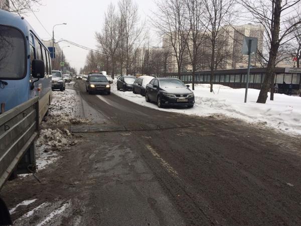 «Лежачий полицейский» отремонтировали на дублере Алтуфьевского шоссе