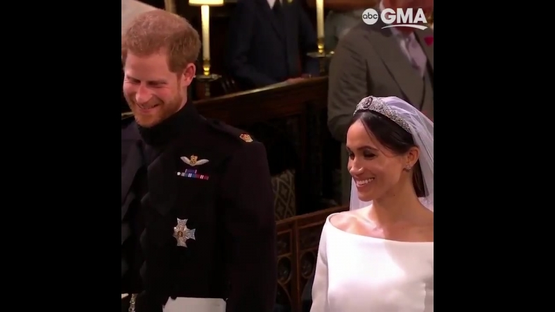 ABC News - Prince Harry and Meghan Markle proclaim their vows during the RoyalWedding ceremony.