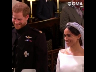 ABC News - Prince Harry and Meghan Markle proclaim their vows during the #RoyalWedding ceremony.