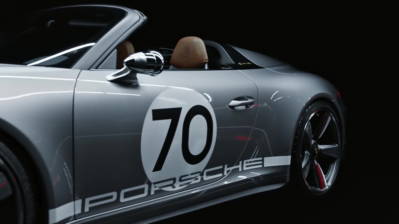 The 911 Speedster Concept. Celebrating 70 years of Porsche sports cars.
