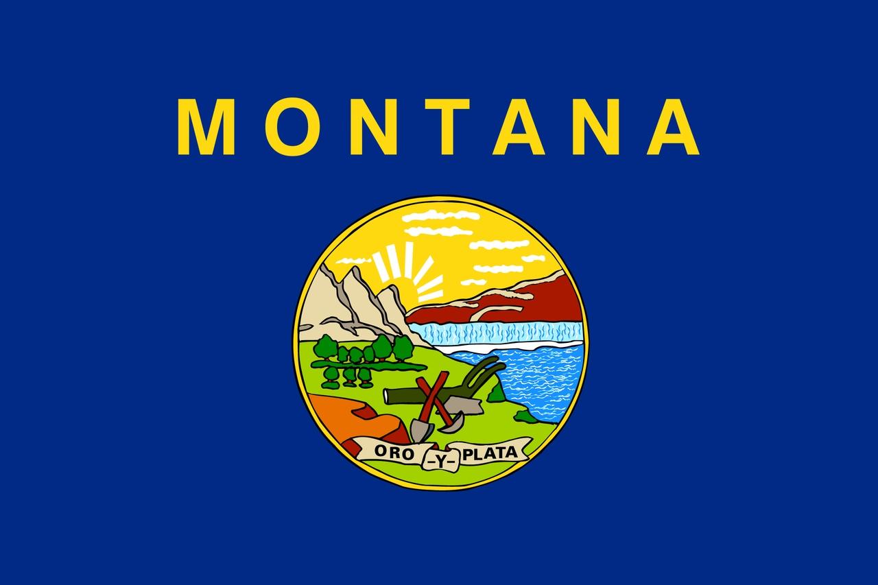 Флаг Монтана