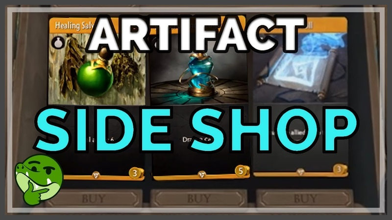 [Artifact] Side Shop Item Guide