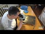 Чернгвськй художник-реставратор показав ункальну кону, яку вдновлю близько мсяця