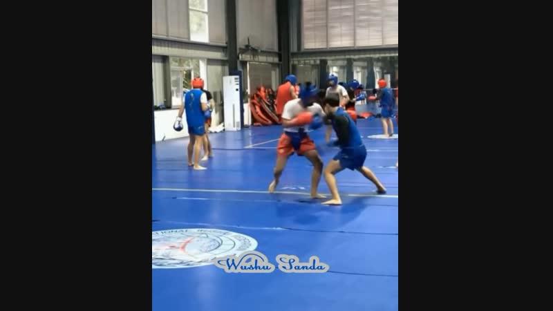 Ушу Саньда - продолжай тренироваться! (vk.com/sanda42)