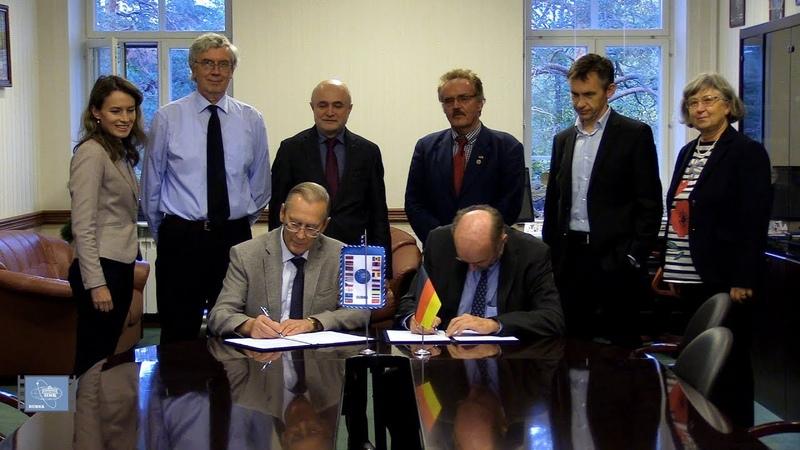 ОИЯИ и HZDR - Гельмгольц-центр Дрезден-Россендорф - подписали Меморандум о взаимопонимании