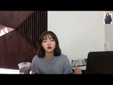 Weki Meki - Yoojung Love yourself( Justine Bieber) covered by Yoojung