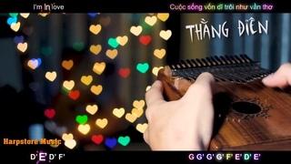 [LYRIC TAB] Thằng điên - JUSTATEE x PHƯƠNG LY (Kalimba Cover) | HarpStore Music