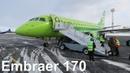 Перелет Пулково - Ярославль на Embraer 170 S7 Airlines