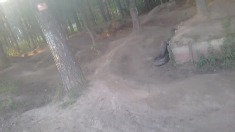Freak spot road gap