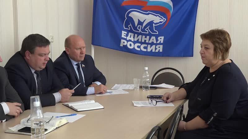 Сердобск ТВ - Личный приём граждан. В.В.Космачёв