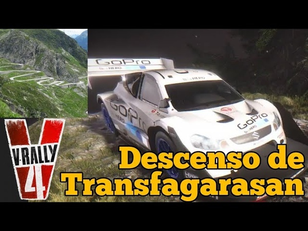 V-Rally 4 - Descenso de Transfagarasan en Suzuki SX4 Pikes Peak