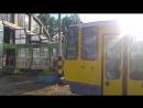 трамвай депо 1 КТ4 DM (6177)