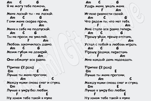 Аккорды к песне Здравствуй мама