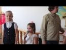 На празднике Пасха дети читают стихи.