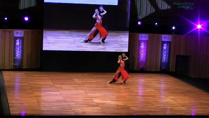 5 BA b, Santiago Estero, Cali, Moscu, BA, Mundial de tango 2018, Semifinal Escenario