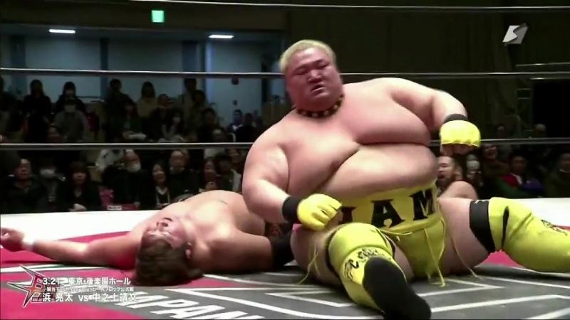 Ryota Hama vs. Yasufumi Nakanoue (BJW - Ikkitousen Strong Climb 2018 - Day 2)