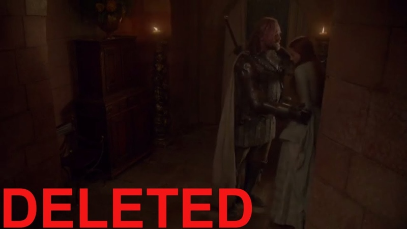 Deleted Scene Sansa and Sandor Clegane (Hound) Game Of Thrones