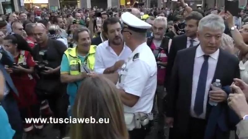 Oh Salvini chiudi le frontiere