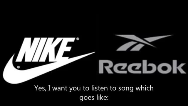 This is the reebok or the nike
