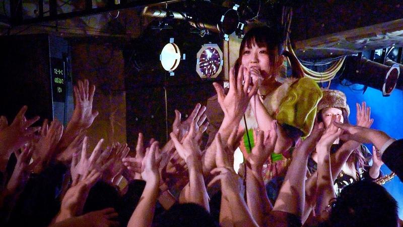 2015.02.10 おやすみホログラム / マシンソング(おやホロバンドver.) @新宿LOFT
