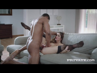 Clea Gaultier - Finishes Swallowing After Interracial Anal [All Sex, Hardcore, Blowjob, Gonzo]