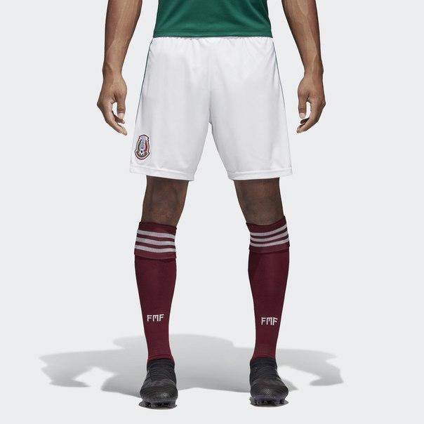 Домашние игровые шорты сборной Мексики