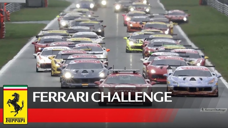 Ferrari Challenge EU 2018 - Race 2 - Finali Mondiali at Monza