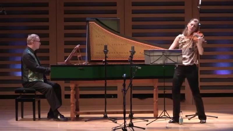 1024 J. S. Bach (?) / J. G. Pisendel (?) - Violin Sonata in C minor, BWV 1024 - Penelope Spencer David Roblou