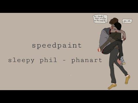 Sleepy phil - phanart idk | speedpaint
