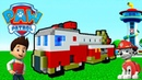 Minecraft Tutorial How To Make The Ultimate Fire Truck Paw Patrol