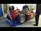 Lancia D50 Warm up at Jim Stokes Workshops Ltd.
