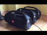 3x JBL BoomBox - Bass test