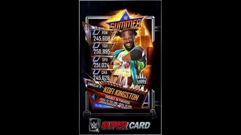 This week s Solo Ring Domination features @TrueKofi! See you SuperCarders in the ring!
