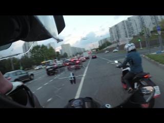 Тест драйв KTM DUKE 200 - Ленка на М4 ДОН