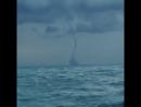Смерч в Черном море недалеко от Геленджика