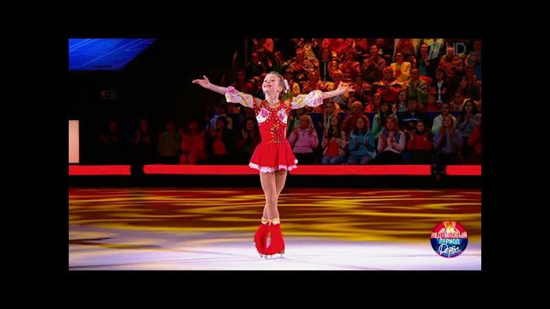 Юбилей школы (25 лет, вторая часть) - Ансамбль танца Сюрприз, танец Калинка, исполнитель Екатерина Васёнкина