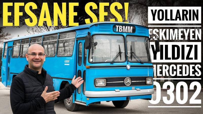 Mercedes O302 Efsane Sese Sahip Efsane Otobüs