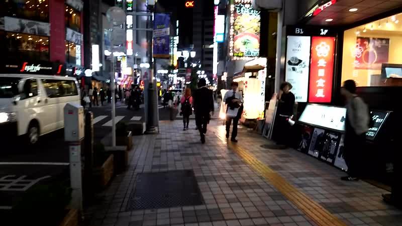 Синдзюку ночью (夜の新宿)