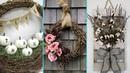 ❤ DIY Shabby Chic style Fall Wreath decor Ideas ❤  Home decor Interior design   Flamingo Mango
