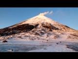 Ключевская сопка. Обзорное видео с перевала Вулканологов