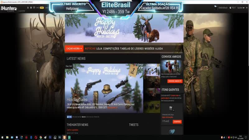TheHunter: Classic - EliteBrasil: Caçando Veado Vermelho Em Val-Des-Bois