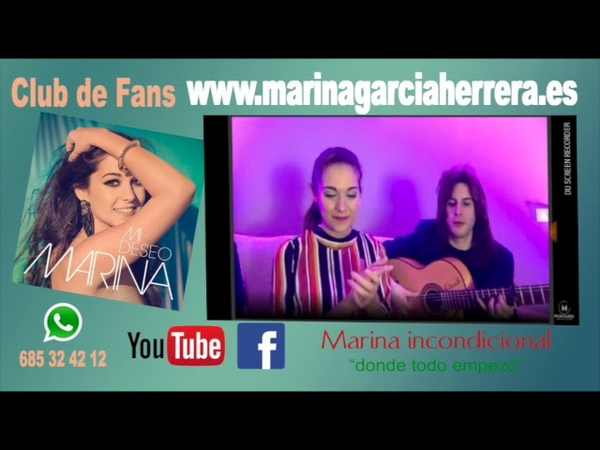 Marina en directo por Bulerias