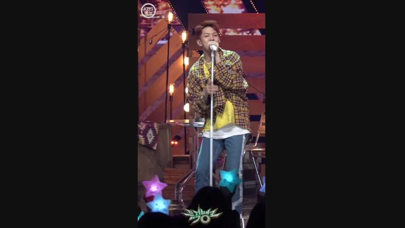 [04.01.19] Music Bank @ - Rooftop (Hweseung focus)